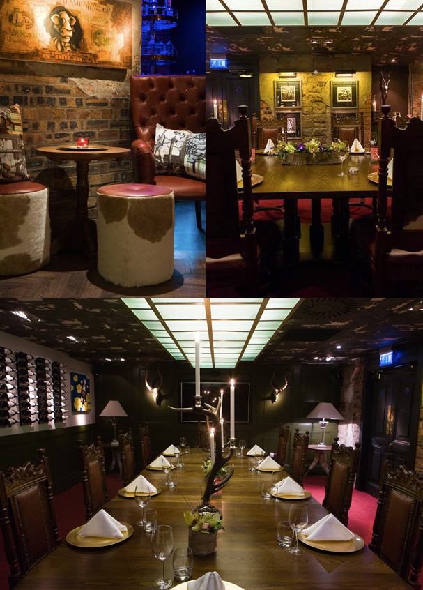 Private dining at kyloe steak restaurant edinburgh for Best private dining rooms edinburgh